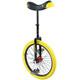 QU-AX Profi ISIS Unicycle yellow/black